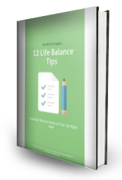 12 Life Balance Tips Book Cover